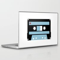 tape Laptop & iPad Skins featuring Love Tape by Project M