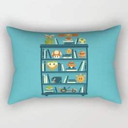 Mario Shelf Rectangular Pillow