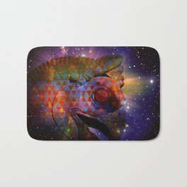 the great persian falcon stares from the cosmos Bath Mat