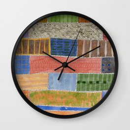 Several Acres of Land  Wall Clock