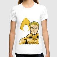 aquaman T-shirts featuring Aquaman by J. J.