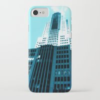 comic book iPhone & iPod Cases featuring Comic Book Chicago by A/B Photography