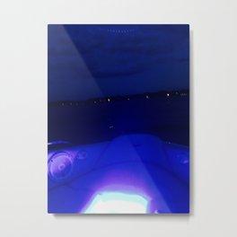 Boat Lights Metal Print