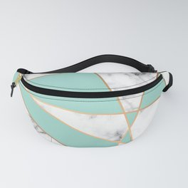 Marble Geometry 055 Fanny Pack