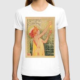 Classic French art nouveau Absinthe Robette T-shirt
