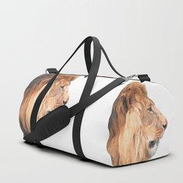 Lion Profile Duffle Bag