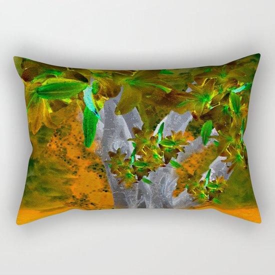 TREE OF YESTERDAY Rectangular Pillow