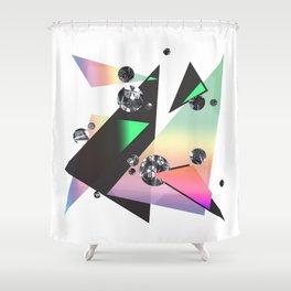 Multicolor Orgasm Shower Curtain