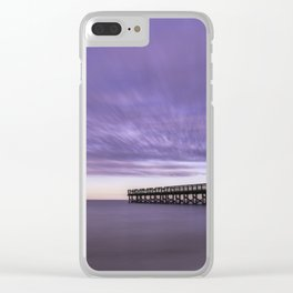 Moody Days of Winter II Clear iPhone Case