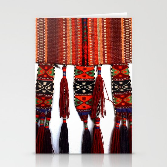 Native American Rug Stationery Cards