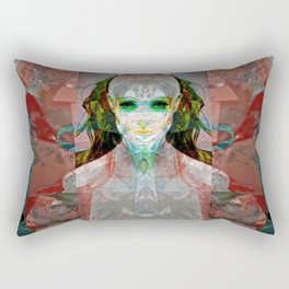machina ex femina Rectangular Pillow