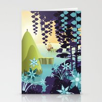 neverland Stationery Cards featuring Neverland by Mario Graciotti