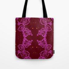 Pink Cluster Tote Bag