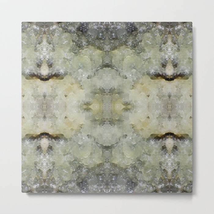 Abstract marble pattern Metal Print