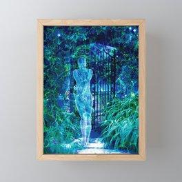 Blue Spirit Framed Mini Art Print