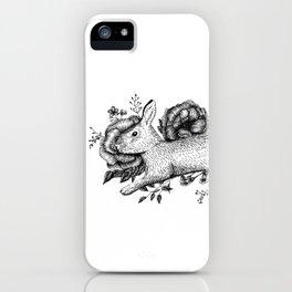 Bunny - Go Vegan iPhone Case