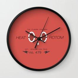 Rotom (Heat) Wall Clock