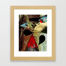 Goat Breath Framed Art Print