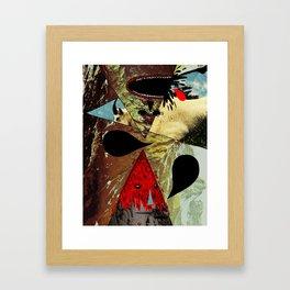 Goat Breath Framed Art Print