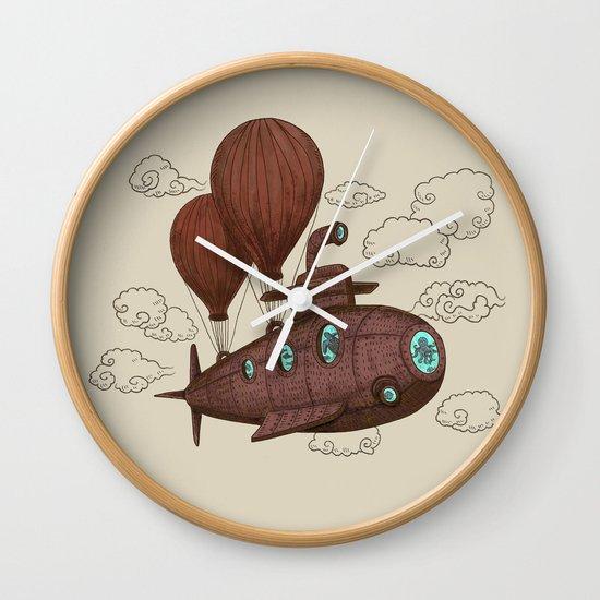 The Fantastic Voyage Wall Clock