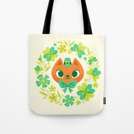 The Luckiest Kitty Tote Bag