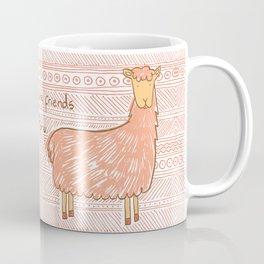 Llamas are Friends in Peru Coffee Mug