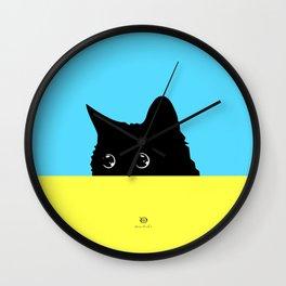 Kitty 2 Wall Clock