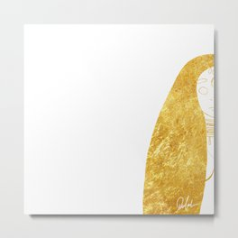 One part of two - Right Metal Print