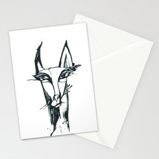 face of the animals Stationery Cards
