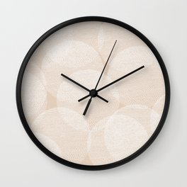 Cosy Circles 1 Wall Clock