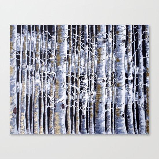Birch Slap Canvas Print