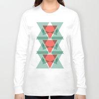 geo Long Sleeve T-shirts featuring Geo by Jamie Fife