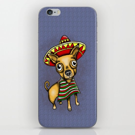 Mexican Chihuahua in Brown iPhone & iPod Skin
