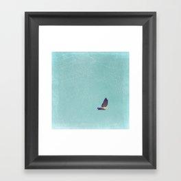 Crossing Pale Blue Skies Framed Art Print