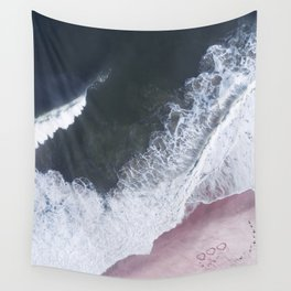 I love the sea - heart and soul Wall Tapestry