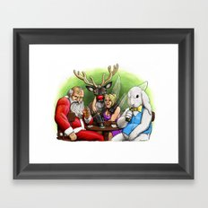 We Don't Believe In You Anymore, Either Framed Art Print