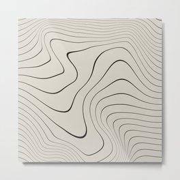 Line Distortion #2 Metal Print