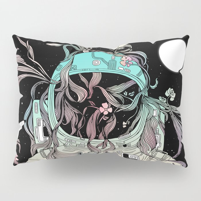 Life is Invading My Space Pillow Sham