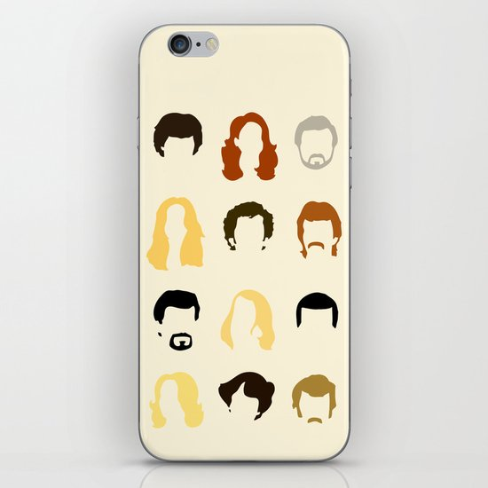 Boogie Quotes iPhone & iPod Skin