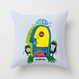 My Imagination Throw Pillow
