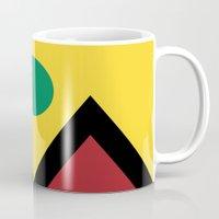 denver Mugs featuring Denver Flag by HighTribe