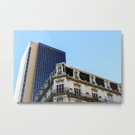 Architectural contrast II in Buenos Aires Metal Print