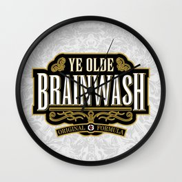 Ye Olde BRAINWASH Wall Clock