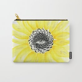 The Sunflower Eye Carry-All Pouch