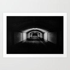 Vevey, sous-gare Art Print