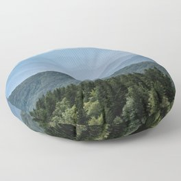 Smoky Mountain National Park -  Summer Adventure Floor Pillow
