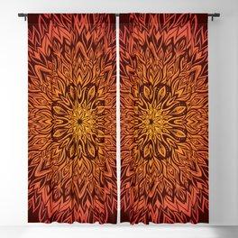 Fire Spirit Mandala Art Blackout Curtain