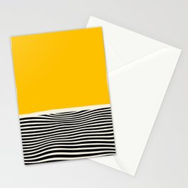 Abstract Optical Illusion Art Stationery Cards