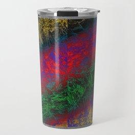 Psychedelic Petrified Wood Travel Mug