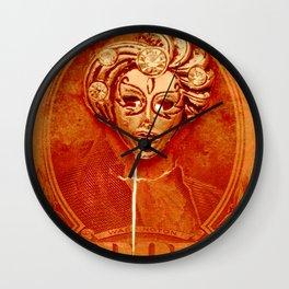 George Washington Gypsy Mask Wall Clock